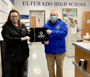 Elverado School donation