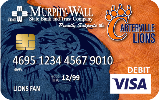 Carterville Instant Issue Debit Card