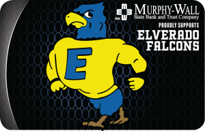 Image of Elverado Falcons Instant Issue Debit Card Design