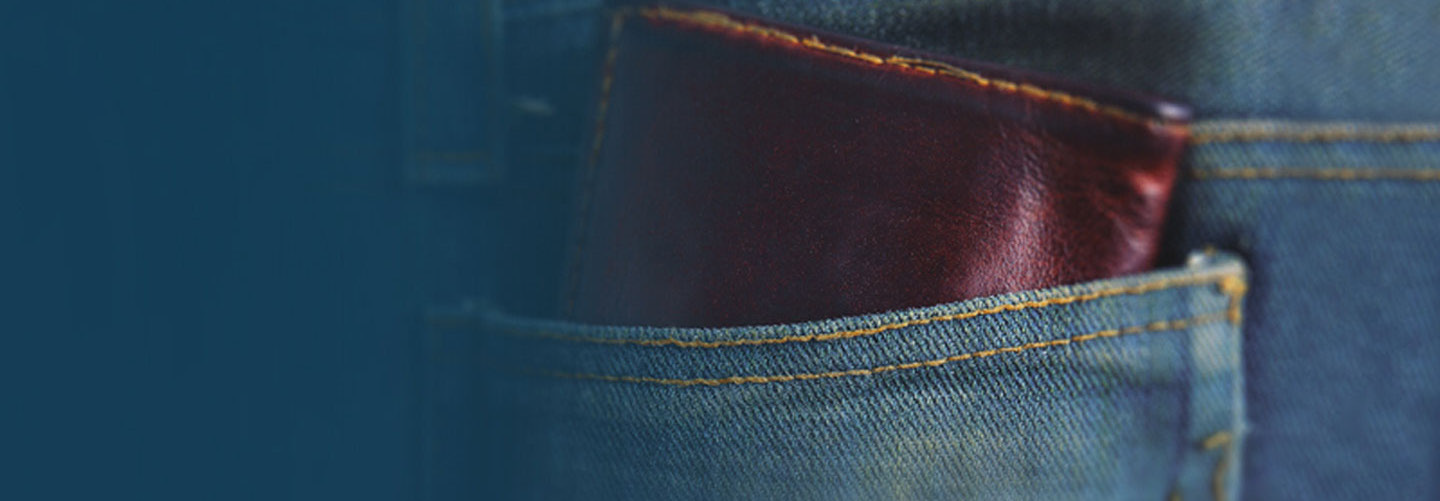 wallet in jean pocket