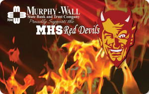 Image of Murphysboro Red Devils Instant Issue Debit Card