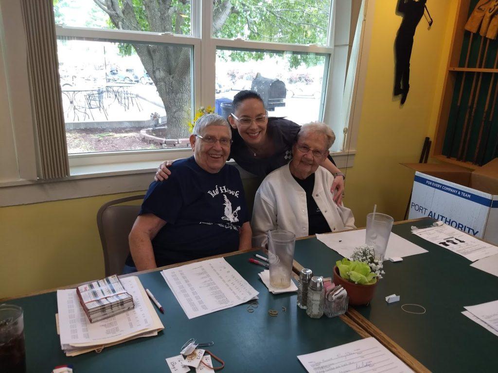 Marlene Craig, Charlotte Carter, and Murphy-Wall VP Monika Holder