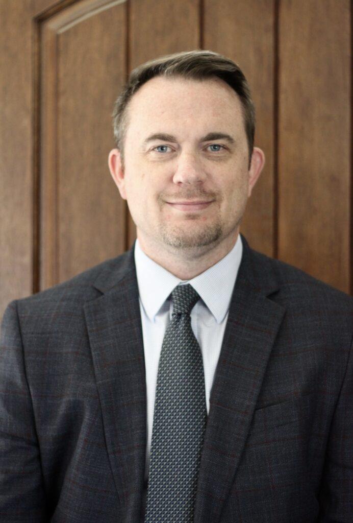Murphy-Wall State Bank employee Matt Brooks
