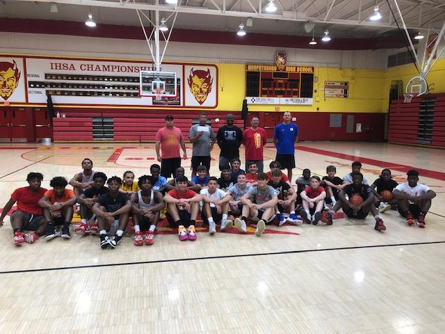 Basketball Camp Team Players - Murphysboro IL