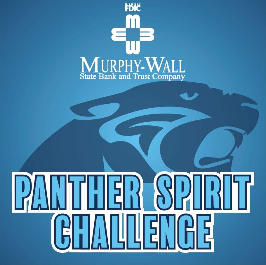 Panther Spirit Challenge graphic - Member FDIC