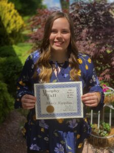 Murphy-Wall's PCHS Student of the Year Macy Epplin
