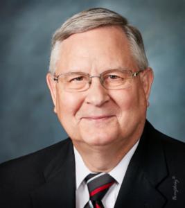 Chairman of the Murphy-Wall State Bank Board Joe Crawford