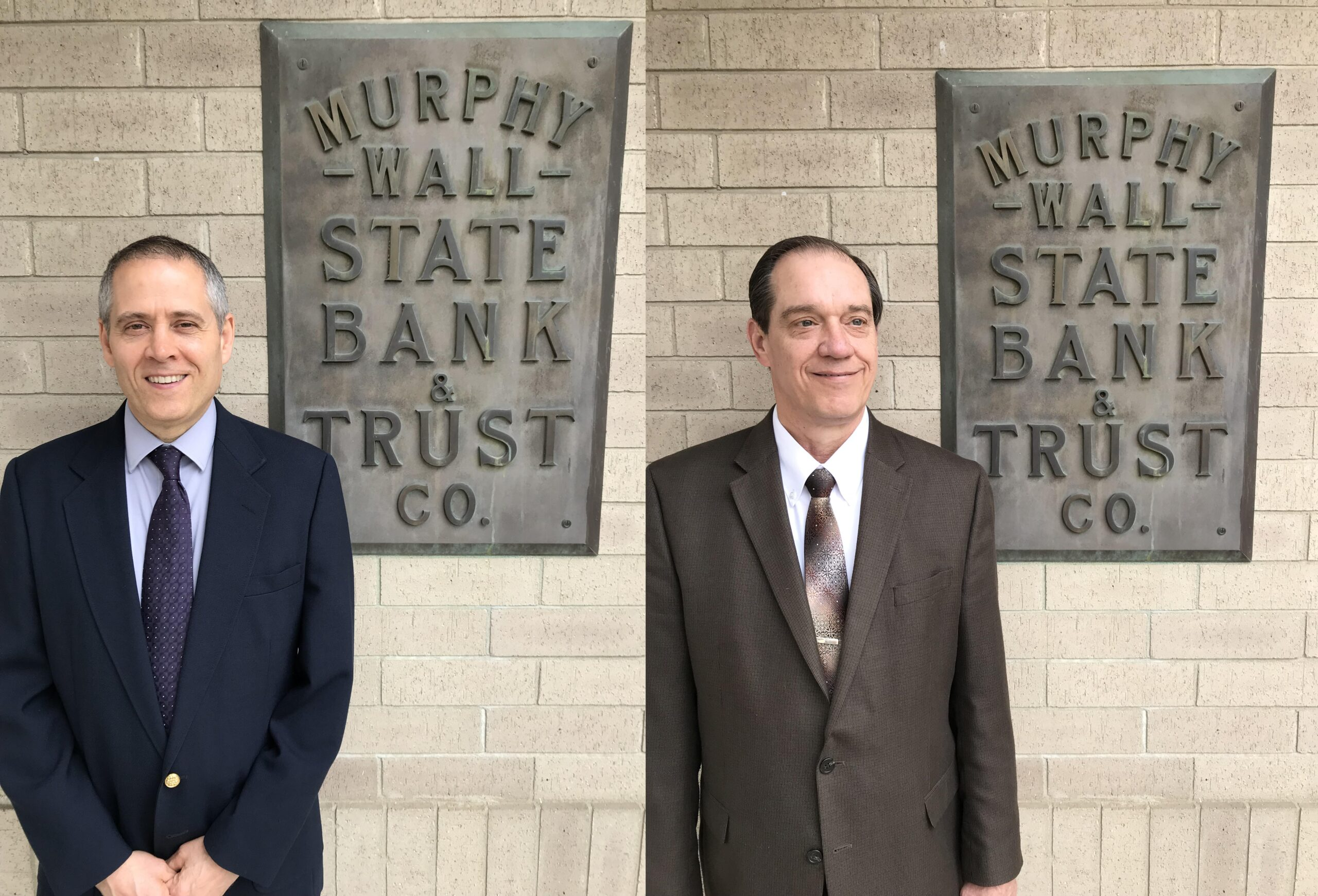 Murphy-Wall State Bank EVPs Brian Chandler and Charles Dobrinick