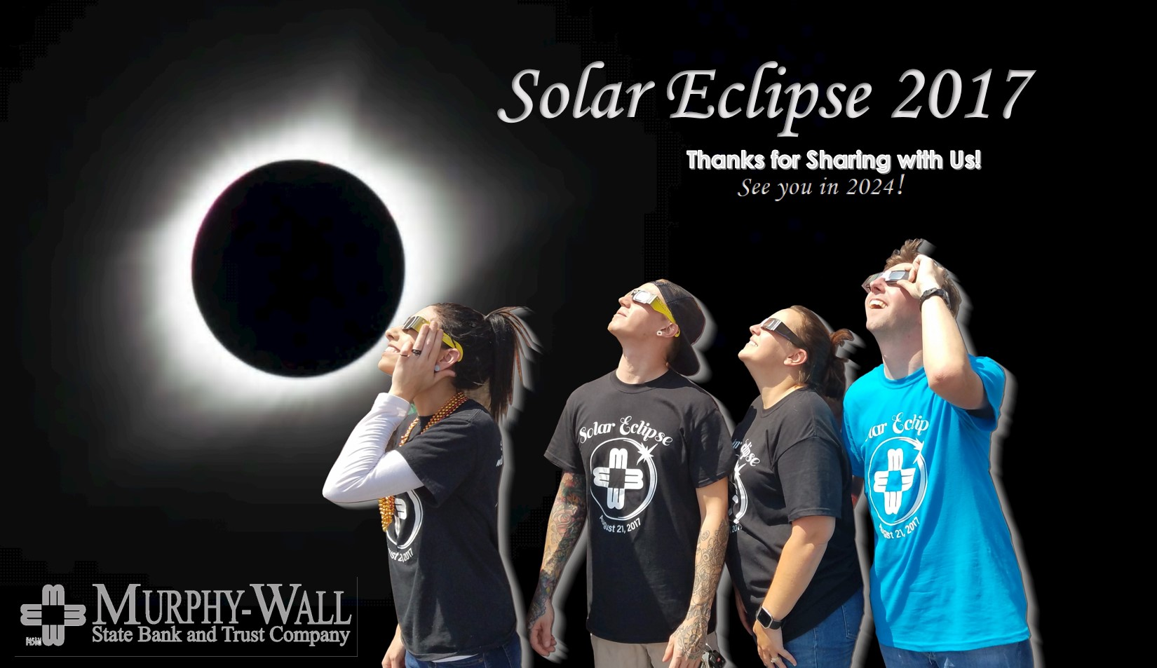 Thank You for sharing the solar eclipse with us!